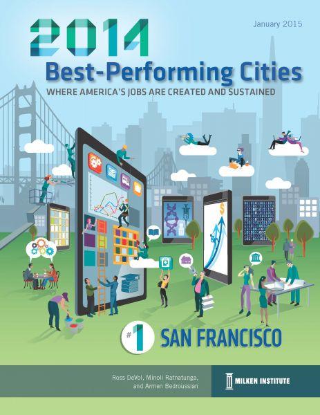 Best Performing Cities 2014 Milken Institute