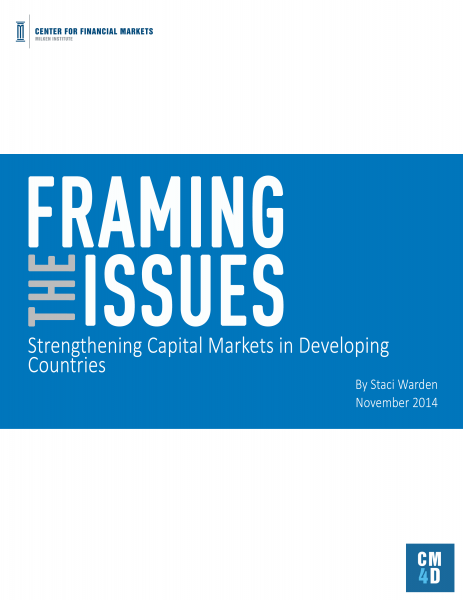 Framing-the-Issues-Strengthening-Capital-Markets-in-Developing-Countries-cover